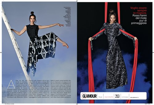 Glamour Italia is out