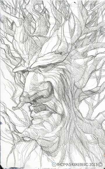 Treebeard from The Lord of the Rings.