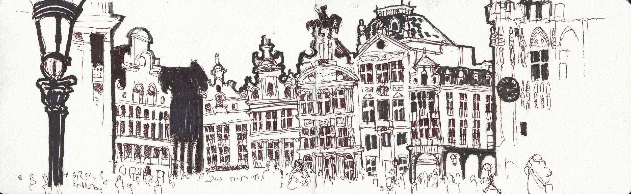 Grand place, Brussels Belgium.