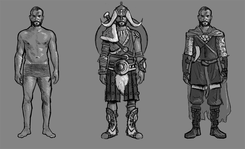 Rough character study