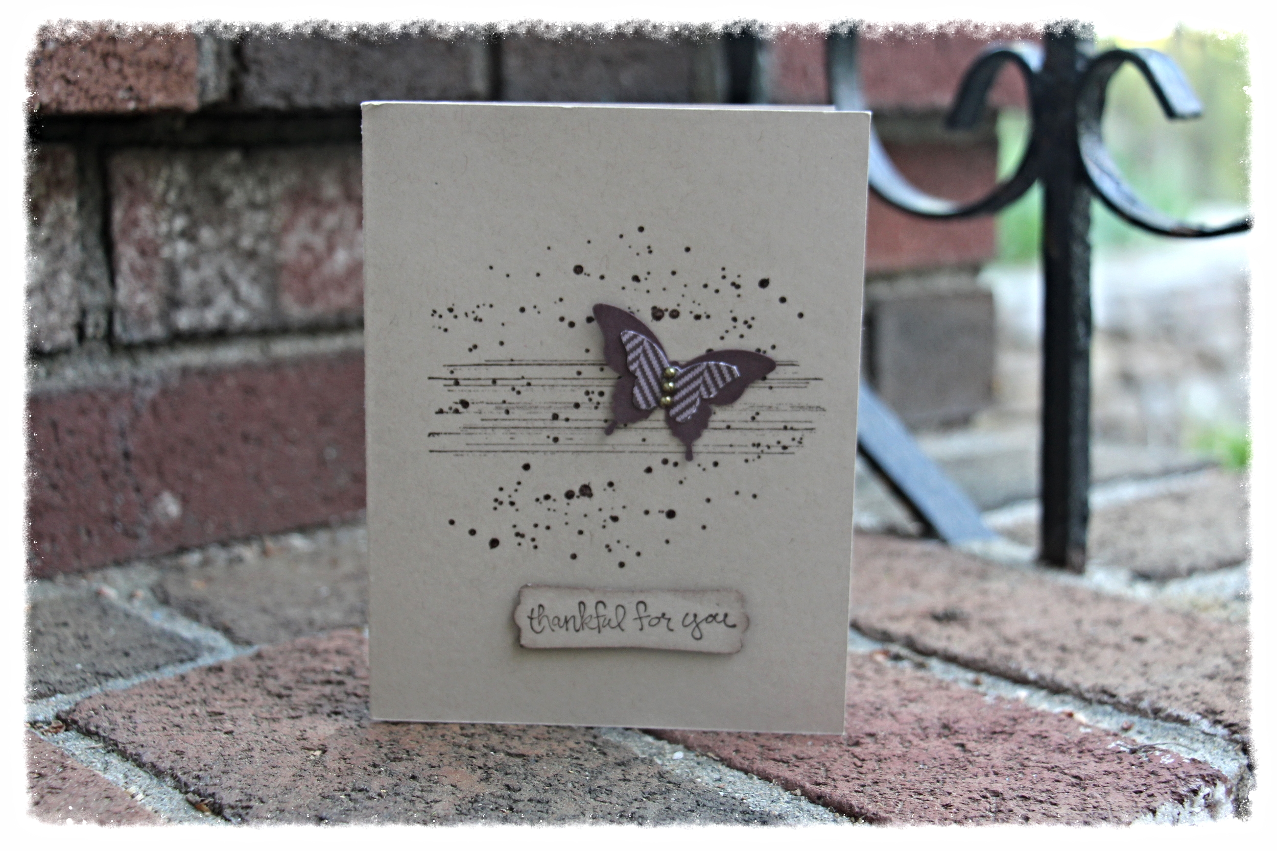 A simple masculine card for that special Father in your life...simple and neutral Father's Day card