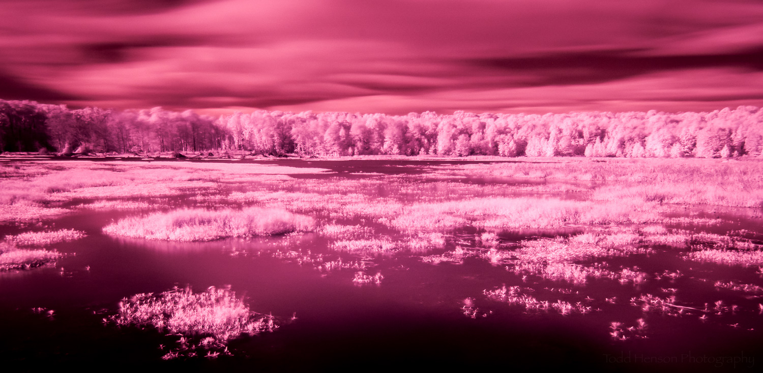 Infrared image without white balance adjustment