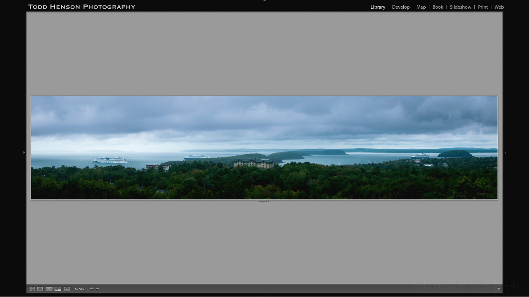 Step 8: The final adjustments in Lightroom