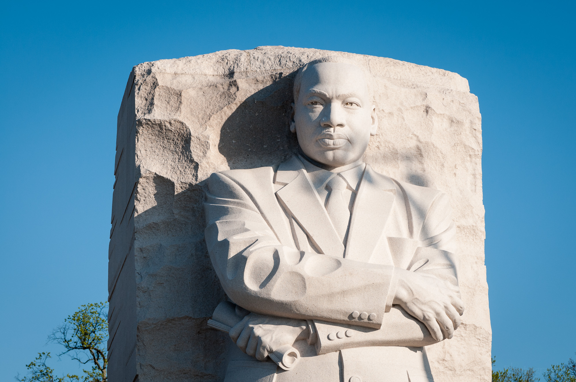Sculpture at Martin Luther King, Jr. Memorial