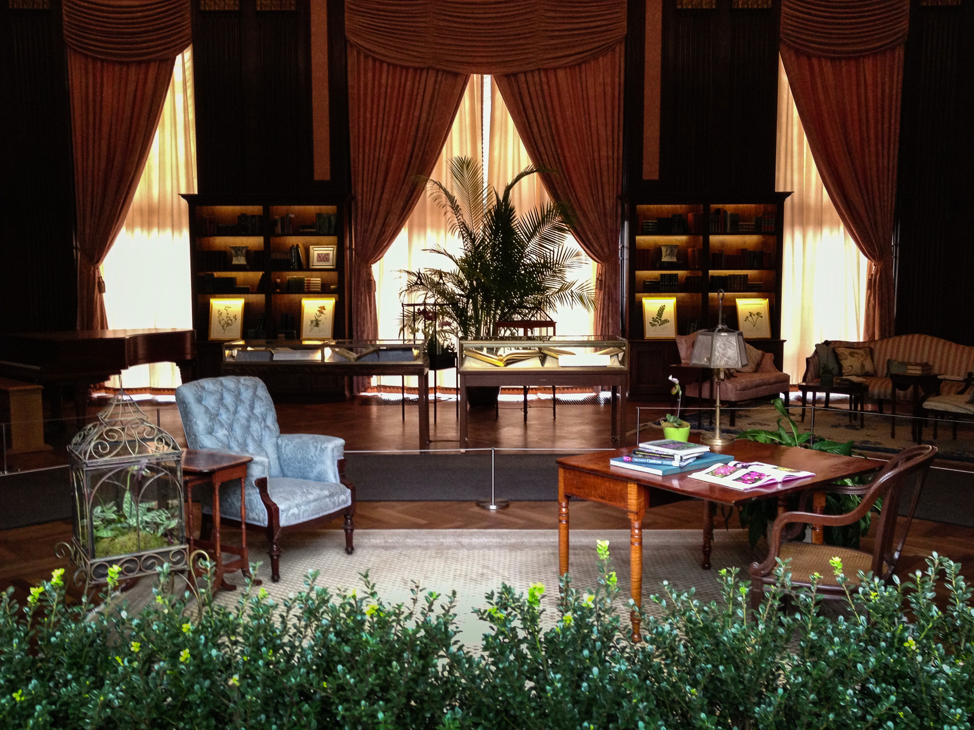 12: A display room within the Conservatory at Longwood Gardens