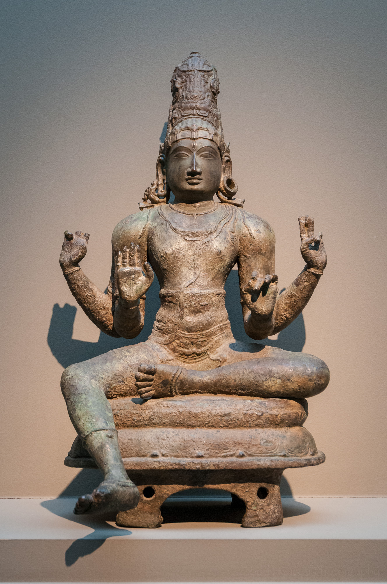 Indian Figure of Shiva at the Sackler Gallery