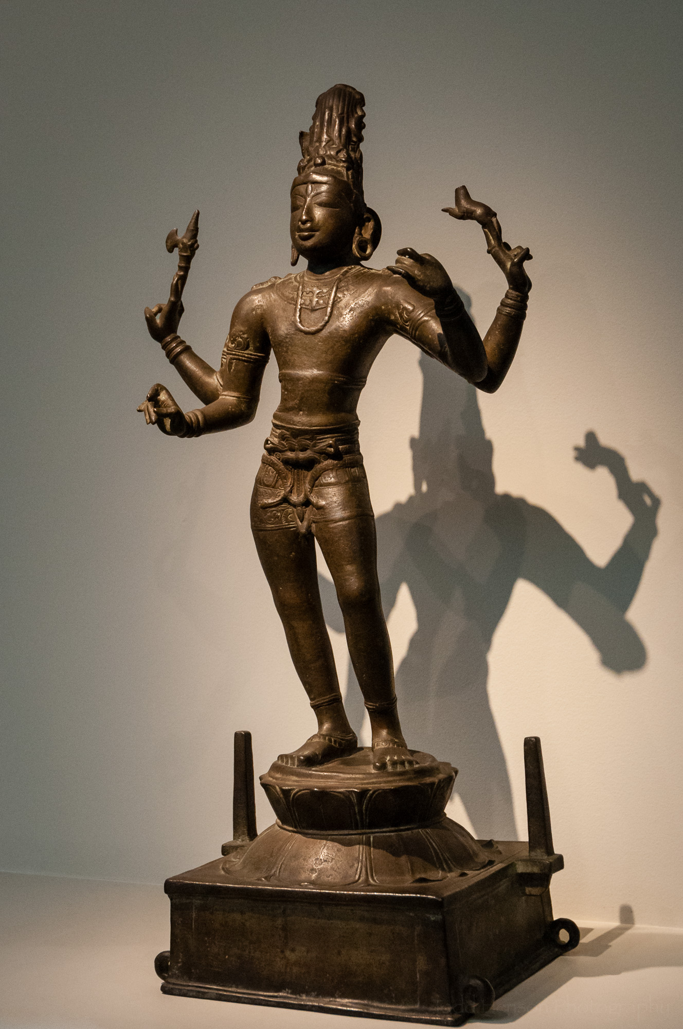 Shiva Vinadhara (Holder of the Vina) at the Sackler Gallery