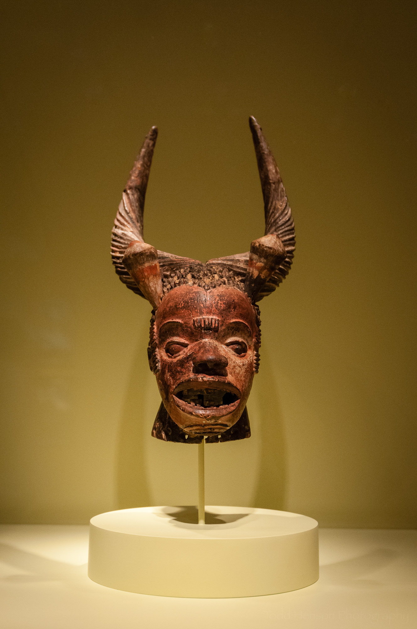 Crest Mask, part of the Walt Disney-Tishman African Art Collection at the National Museum of African Art