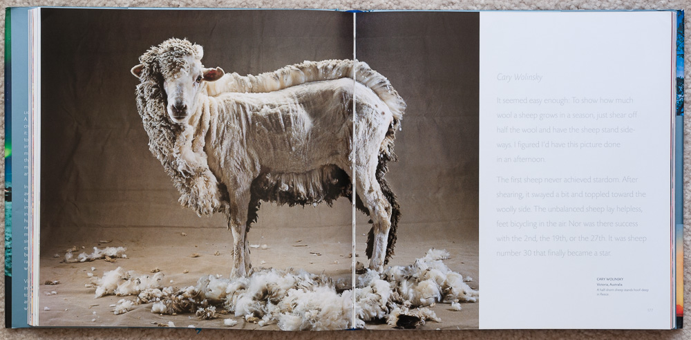Pages 176-177 of   Stunning Photographs  , in the section titled:  Wit