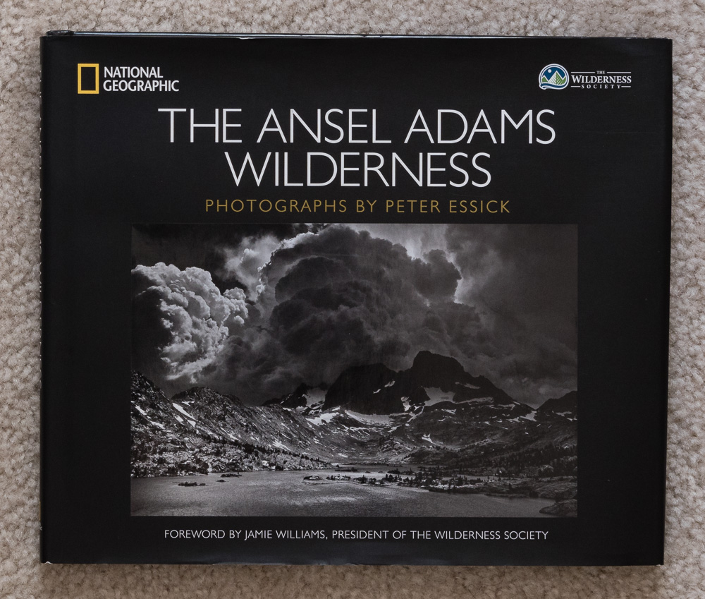 Cover of   The Ansel Adams Wilderness