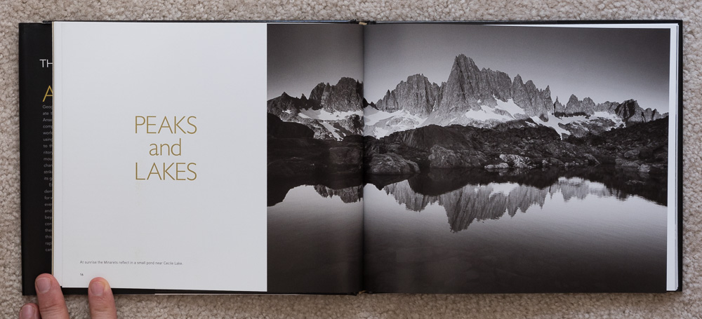 The Ansel Adams Wilderness  , pages 16-17