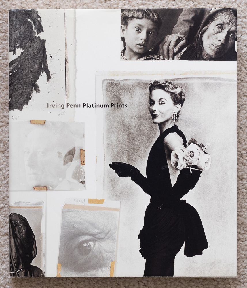 Cover of  Irving Penn: Platinum Prints