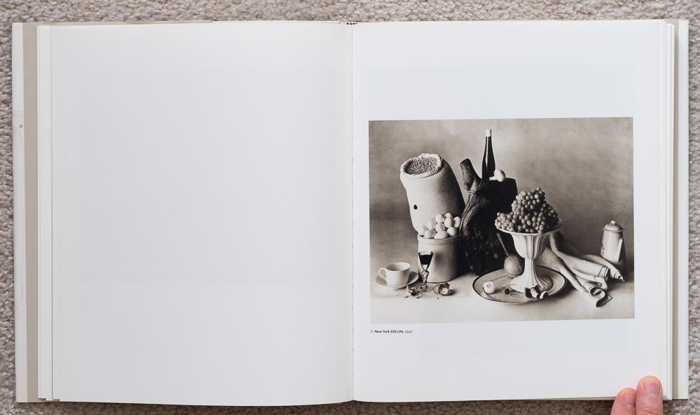 Irvin Penn: Platinum Prints. P late 6: New York Still Life, 1947