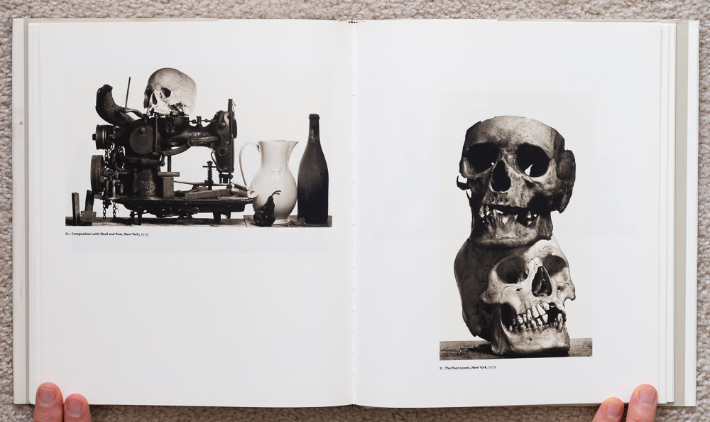 Irvin Penn: Platinum Prints. P late 80: Composition with Skull and Pear, New York, 1979. Plate 81: The Poor Lovers, New York, 1979