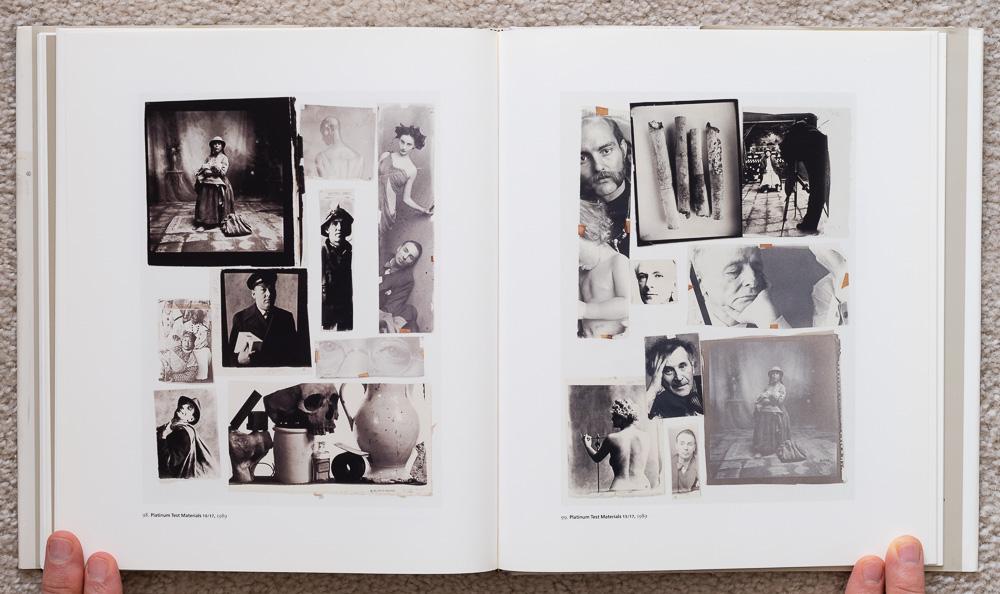Irvin Penn: Platinum Prints. P late 98: Platinum Test Materials 10/17, 1989. Plate 99: Platinum Test Materials 15/17, 1989