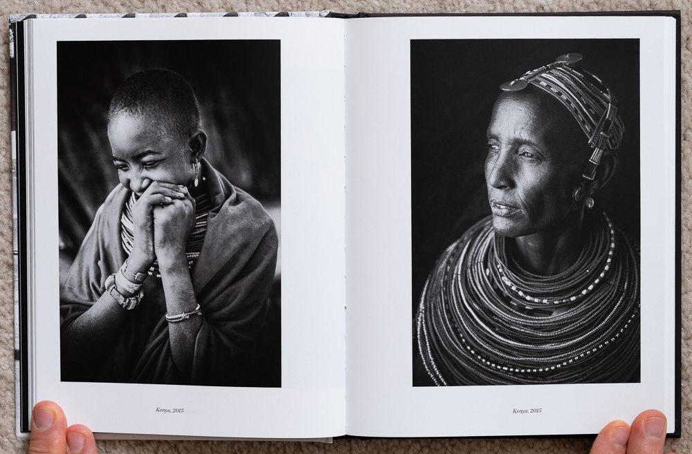 Pages 64 - 65 of  The Soul of the Camera . Photographs from Kenya, 2015.