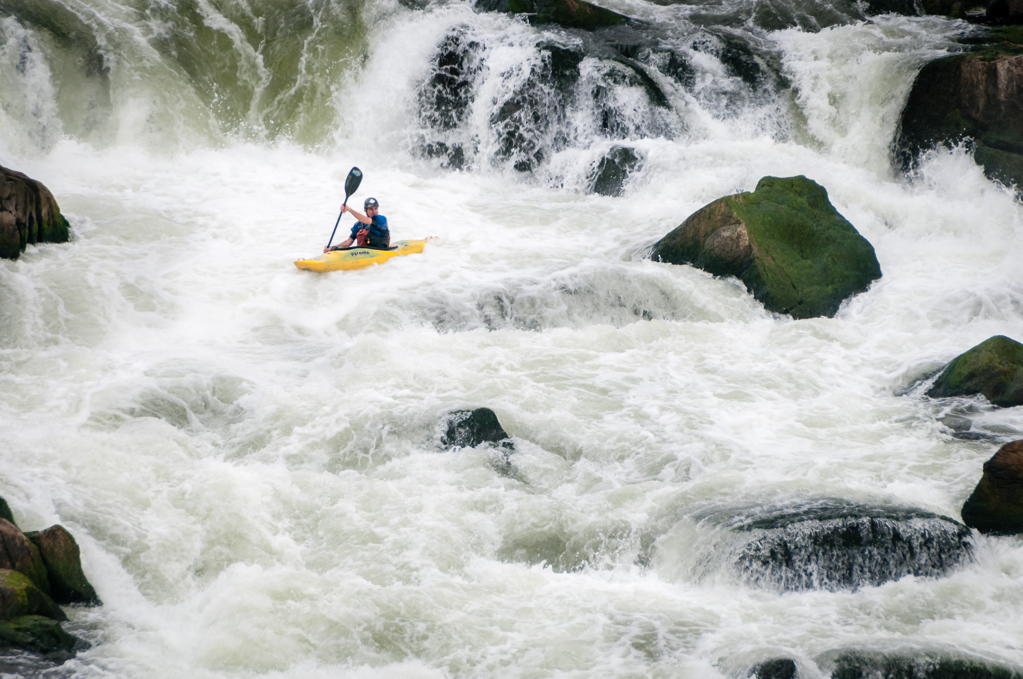 Reading the Rapids , an example of dodging and burning.
