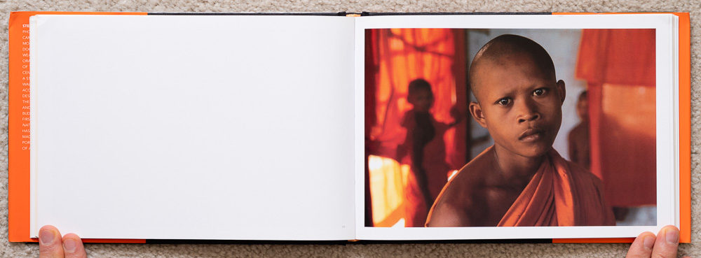 Pages 54-55. Portrait of a Buddhist monk.