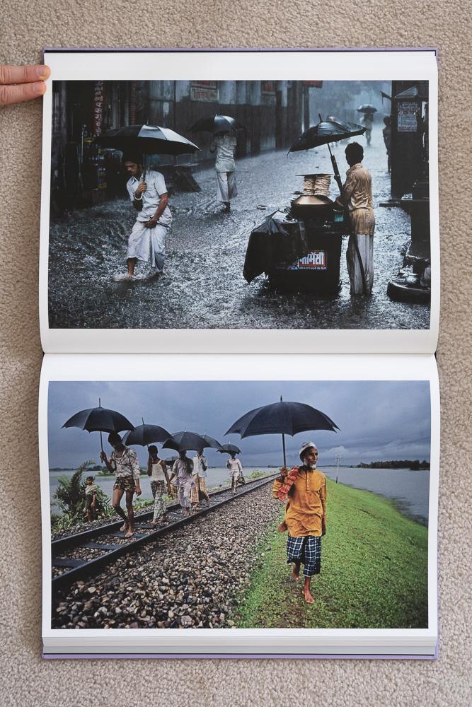 Steve McCurry: The Iconic Photographs . Chandni Chowk, Old Delhi, India, 1983. Train Track, Bangladesh, 1983.