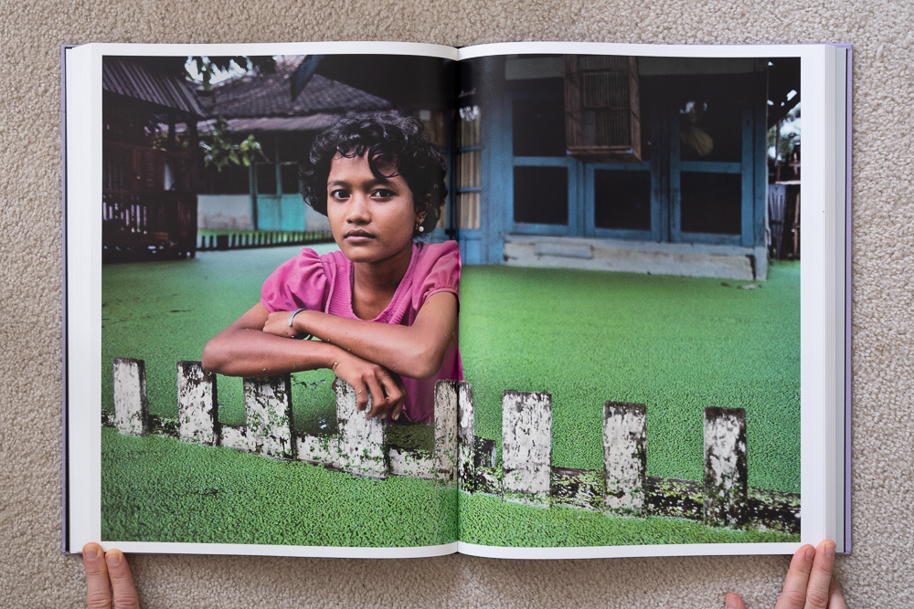 Steve McCurry: The Iconic Photographs . A Girl in Her Front Yard, Bojonegoro, Java, Indonesia, 1983.