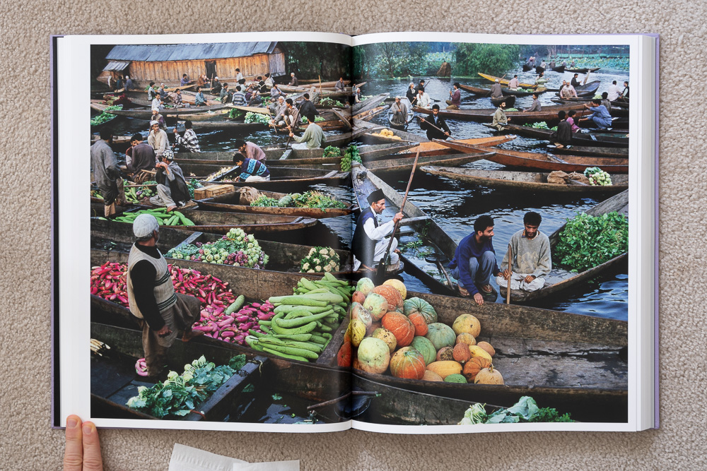 Steve McCurry: The Iconic Photographs . Shikaras on Dal Lake, Srinagar, Kashmir, 1999.