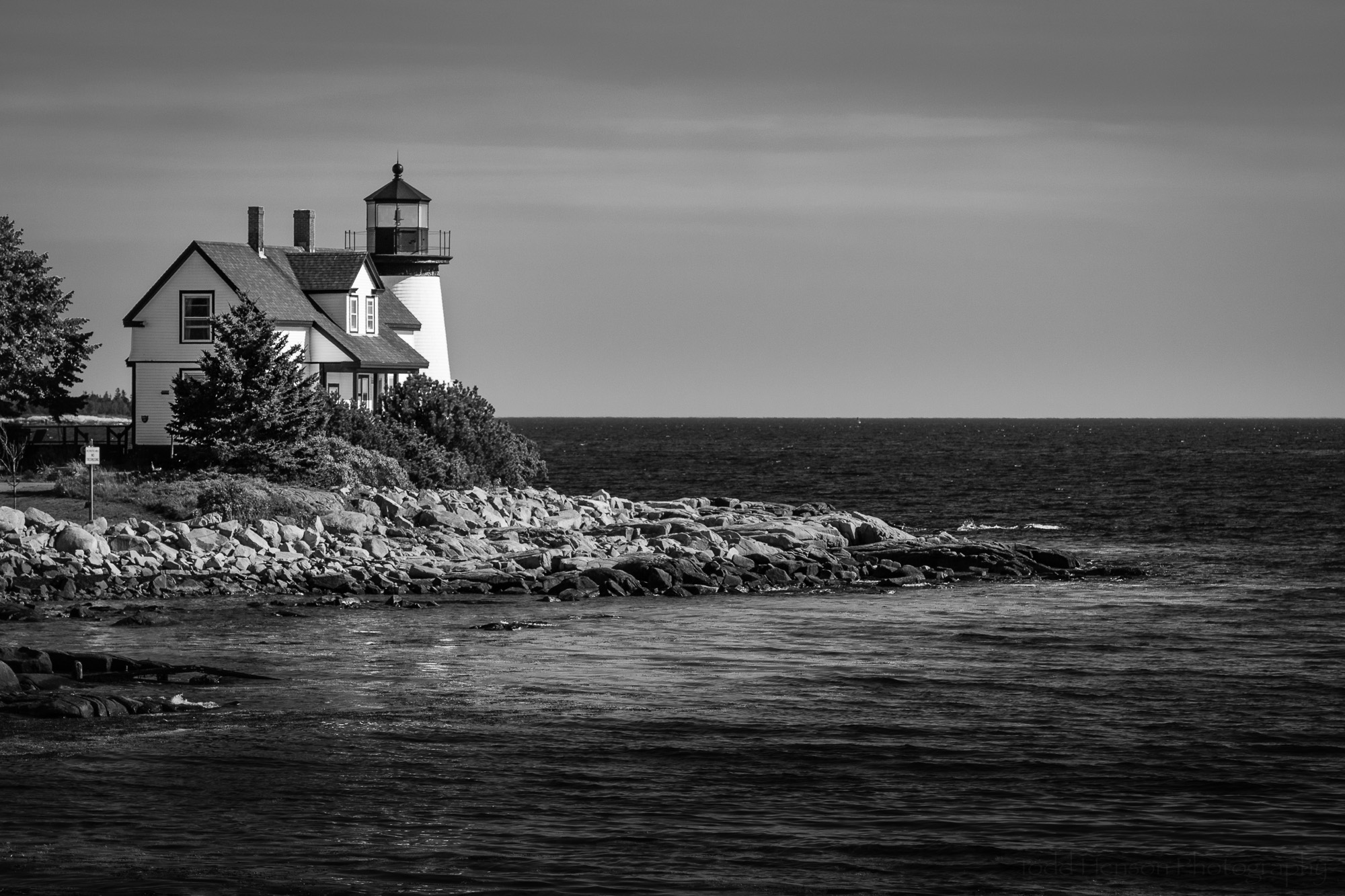 Watching Over Prospect Harbor  (2016) (available for  purchase as a fine art print or on a variety of products )