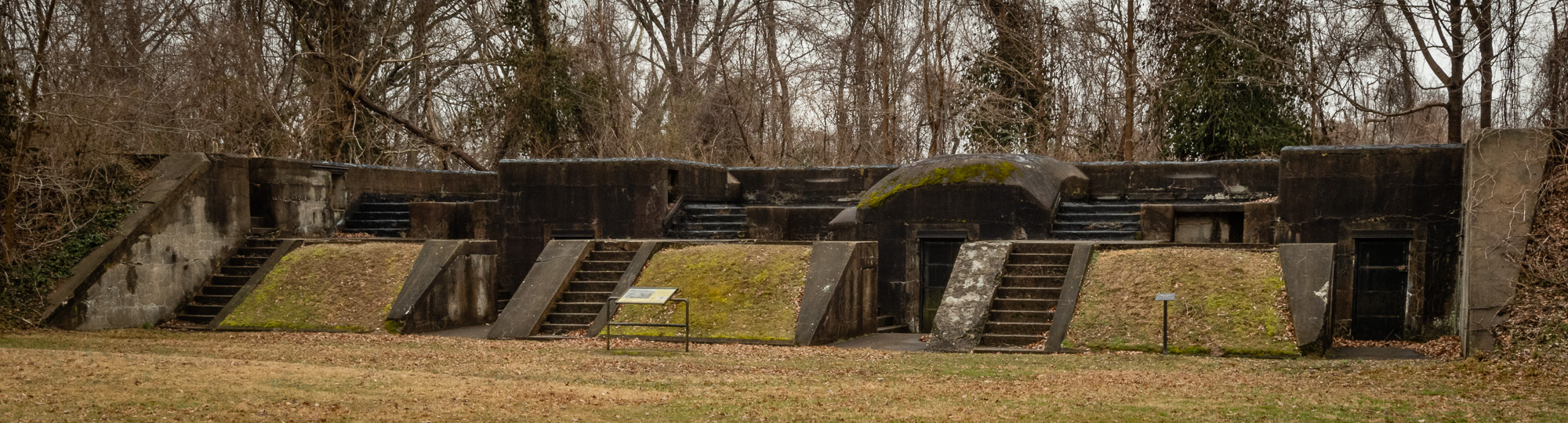 Battery Sater, Fort Hunt Park, Virginia