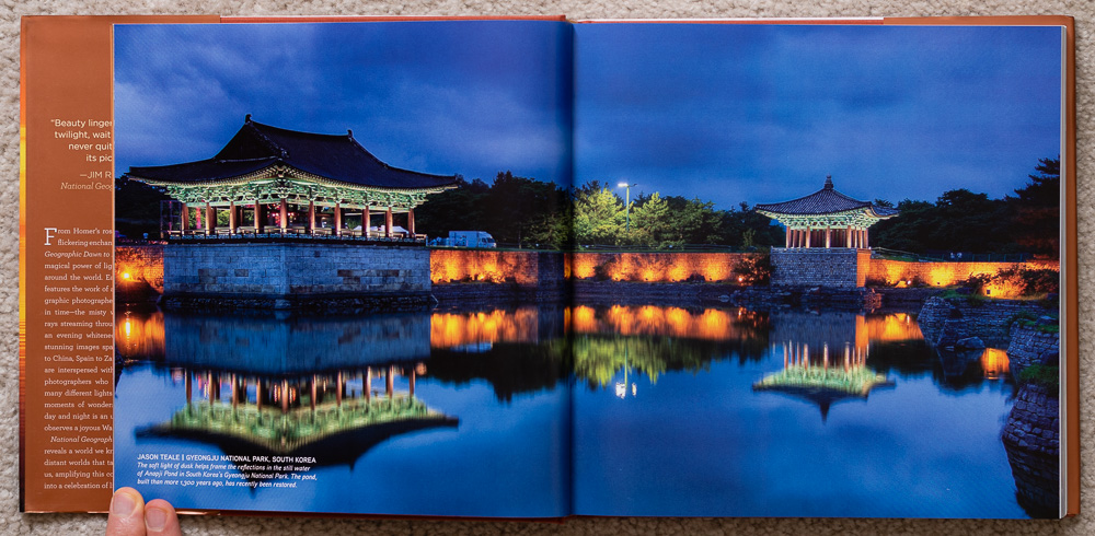 National Geographic Dawn to Dark . Jason Teale. Gyeongju National Park, South Korea. Pages 10-11