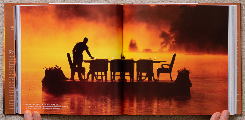 National Geographic Dawn to Dark . Michael Melford. Lake Placid, New York. Pages 96-97