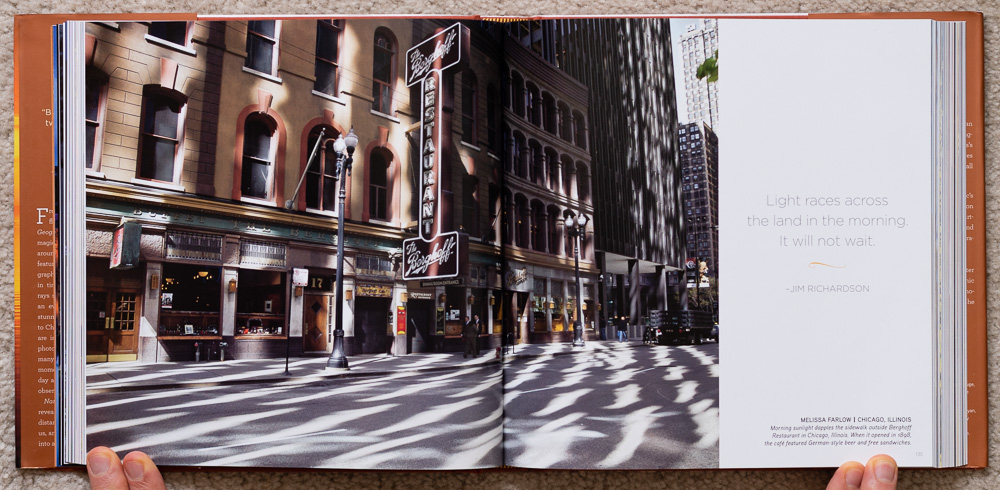National Geographic Dawn to Dark . Melissa Farlow. Chicago, Illinois. Pages 134-135