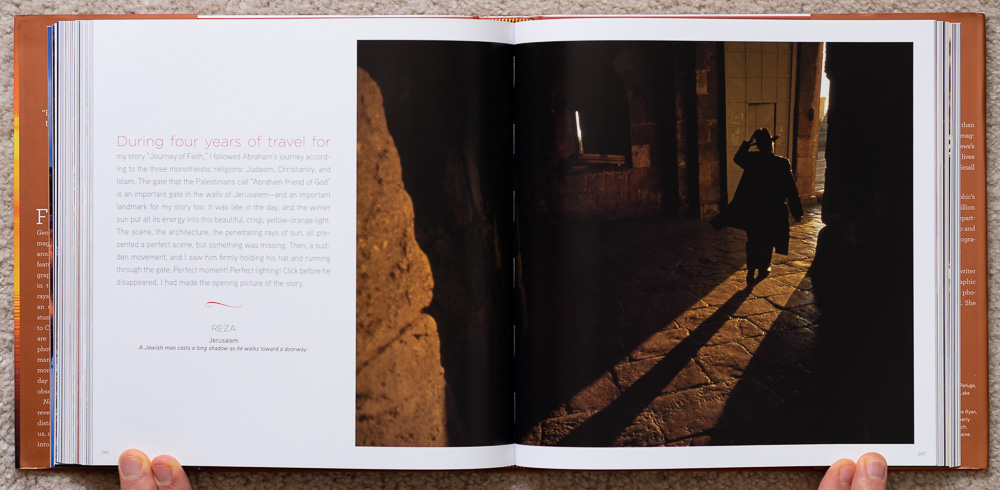 National Geographic Dawn to Dark . Reza. Jerusalem. Pages 246-247