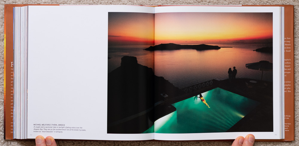 National Geographic Dawn to Dark . Michael Melford. Thira, Greece. Pages 312-313