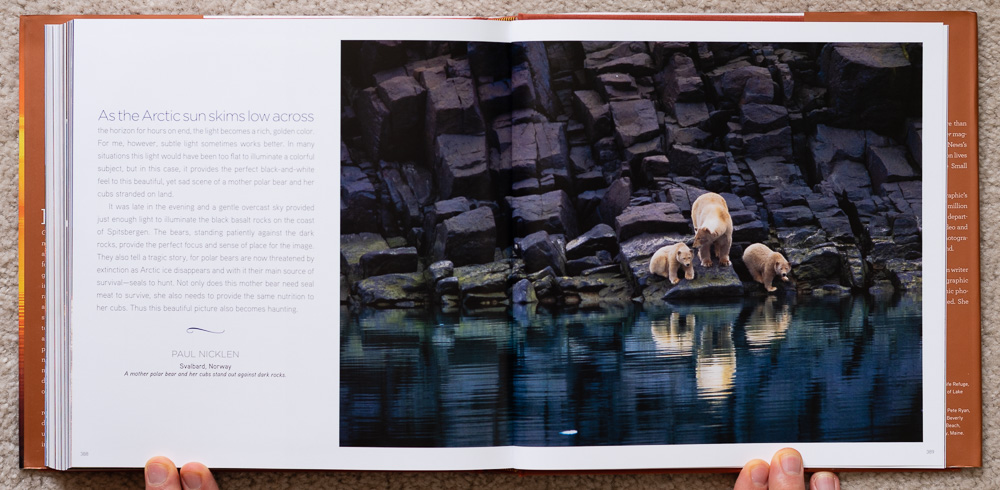 National Geographic Dawn to Dark . Paul Nicklen. Svalbard, Norway. Pages 388-389