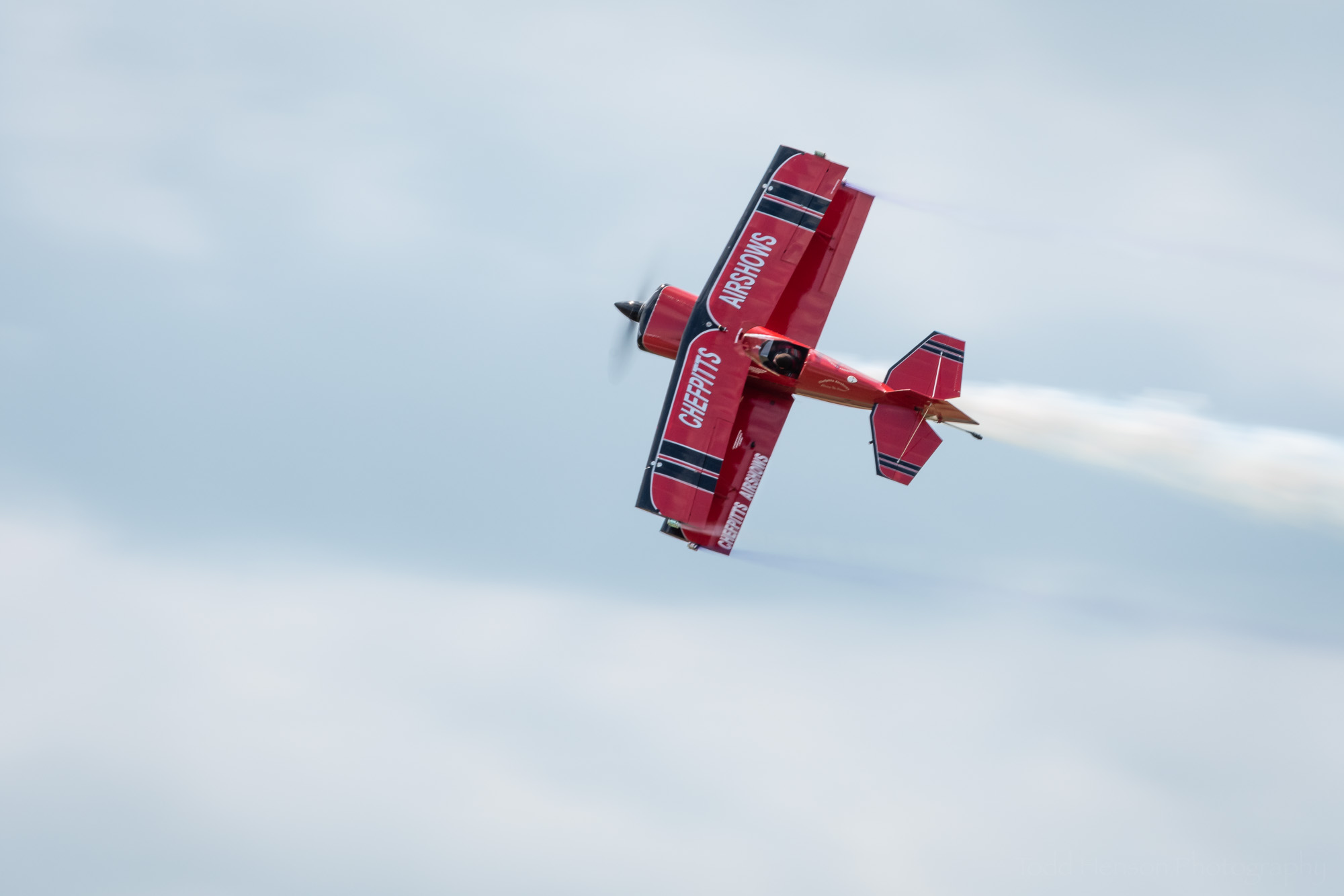 Chef Pitts and his amazingly aerobatic Pitts S1S biplane.