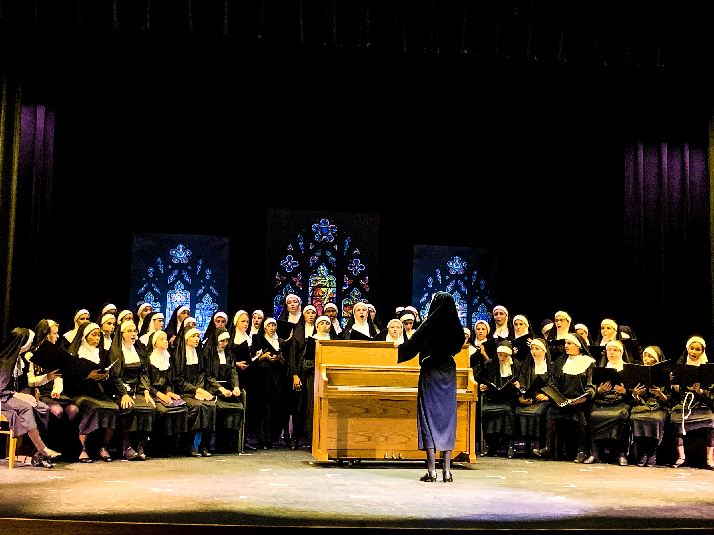 Belmont Ridge Middle School performing  Sister Act