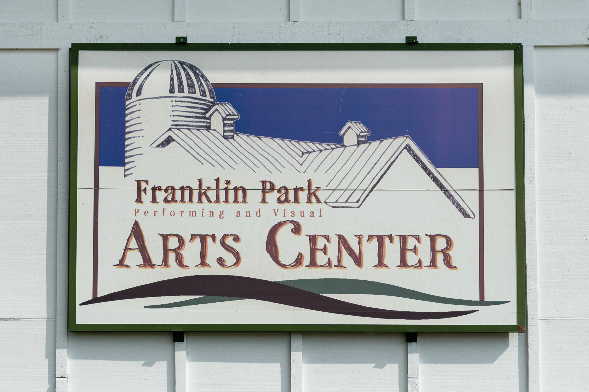 Franklin Park Arts Center Sign