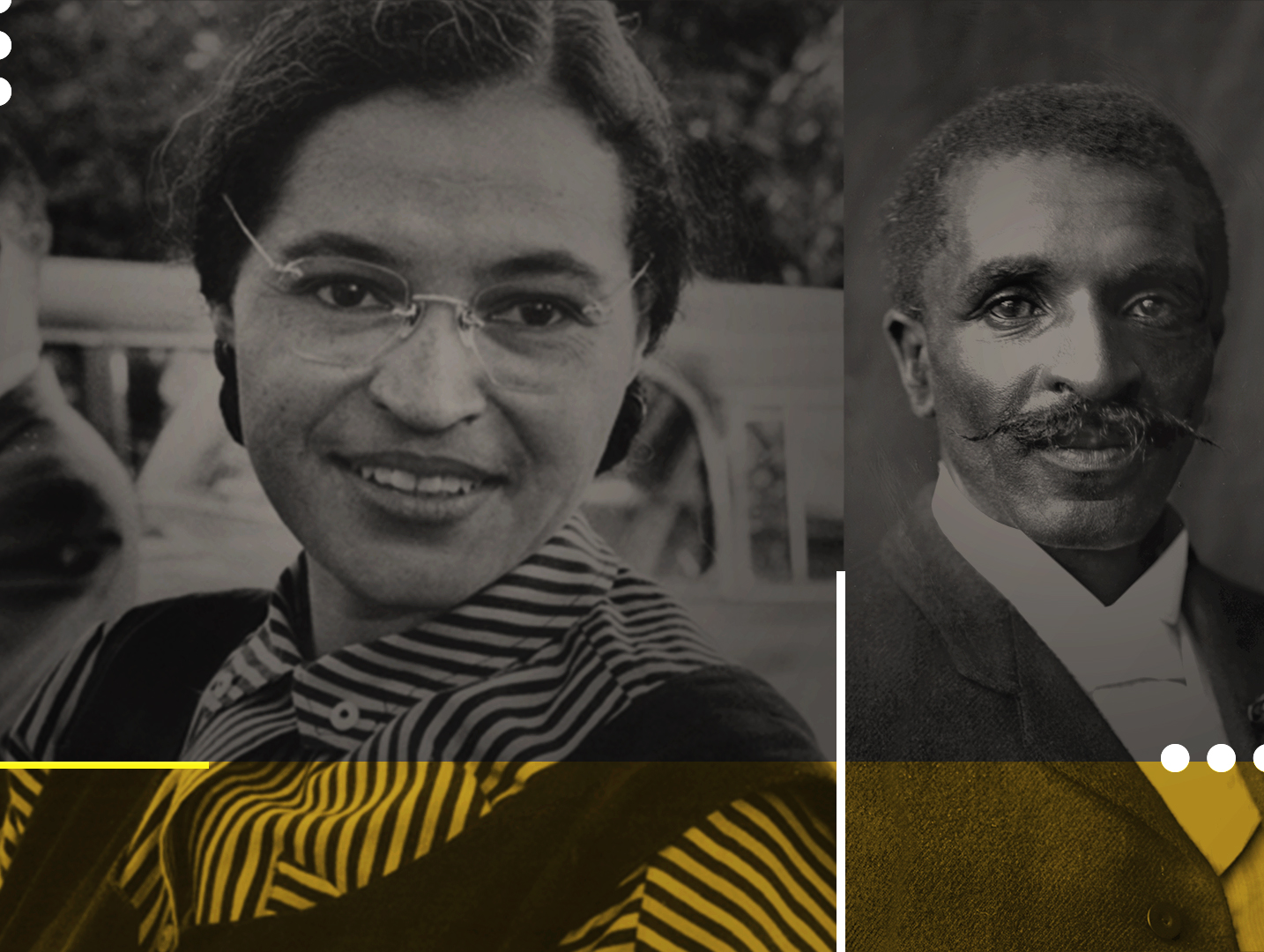 Rosa Parks // George Washington Carver