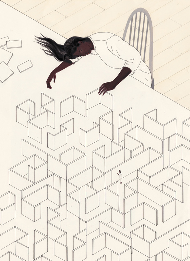 Illustration by Harriet Lee-Merrion