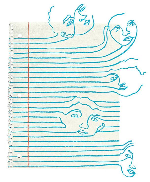 Illustration by Kim Rosen
