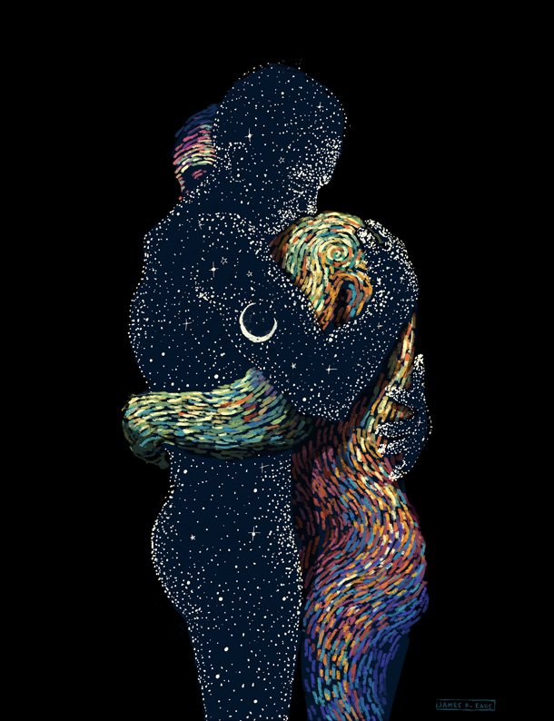 Illustration by James R. Eads