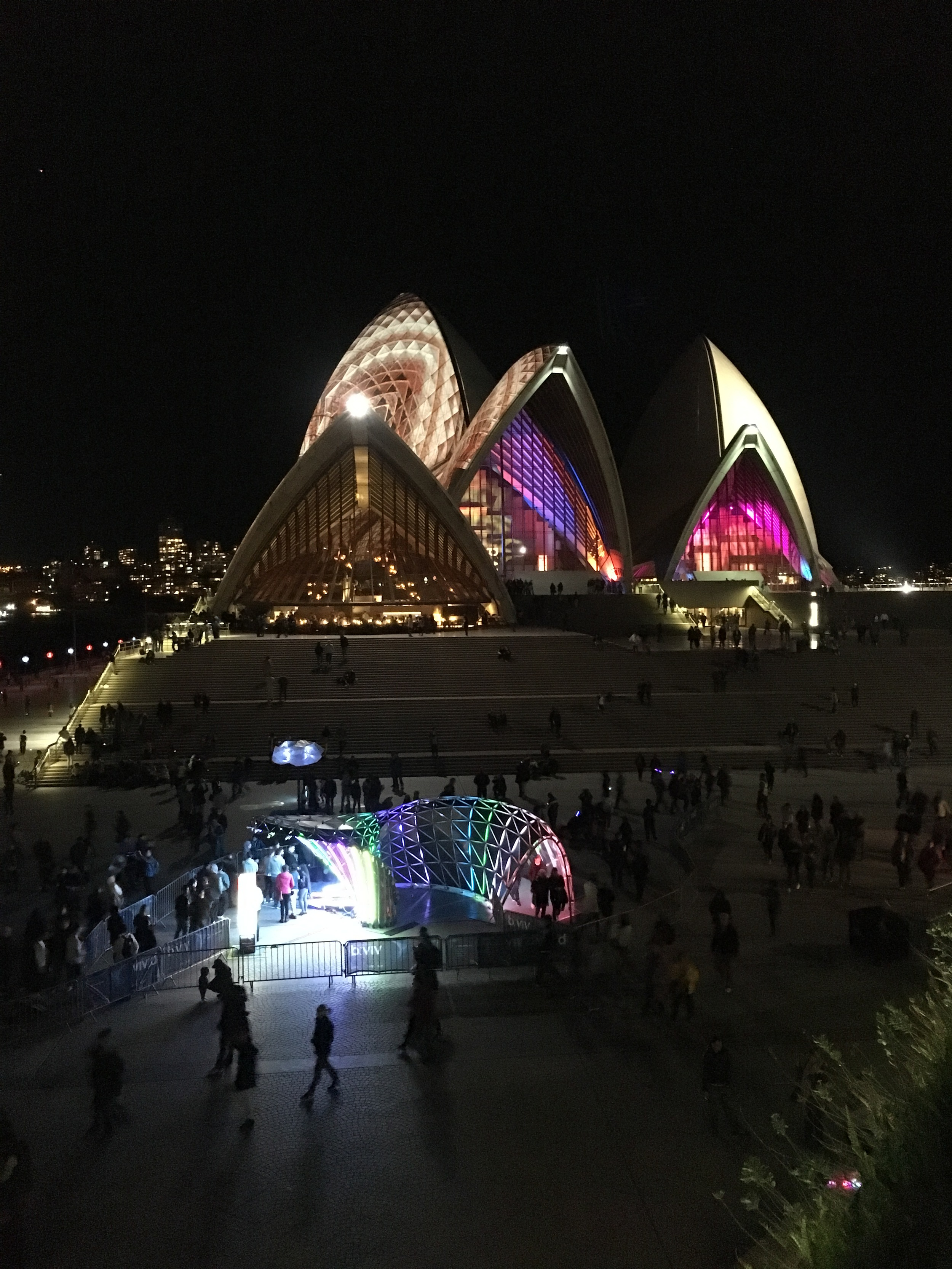 Vivid Sydney Opera House - iPhone 6S Plus