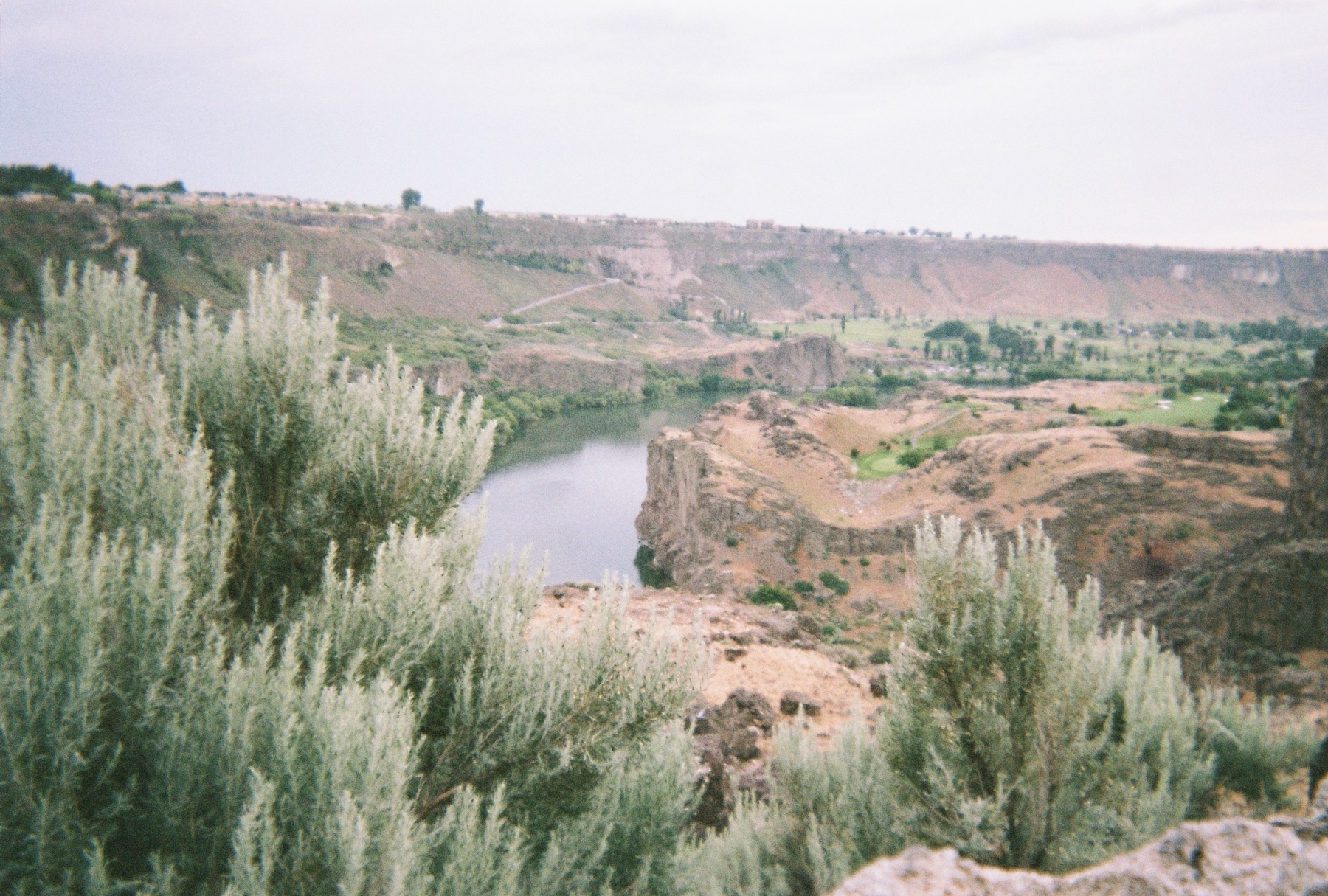 River from the highway. Twin Falls, ID.