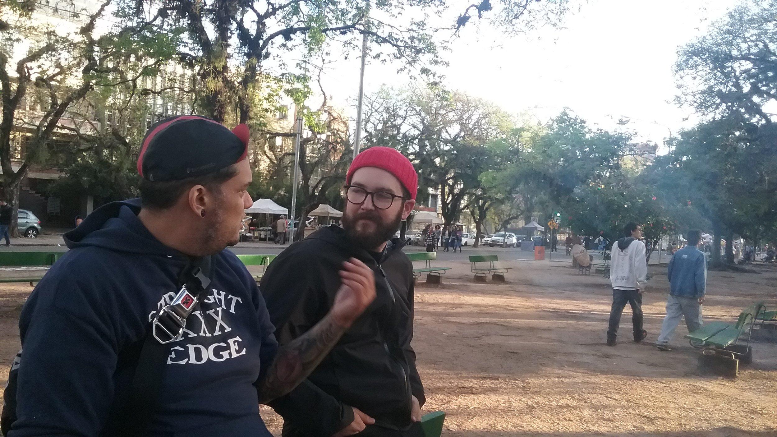 Alan Chaves + Mark Nesbitt in Porto Alegre, Brazil