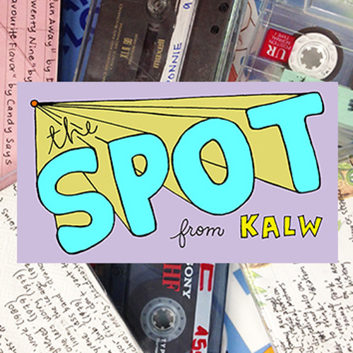Van Sounds postcard by Em Jiang featured on The Spot. It's a public radio mixtape that airs on KALW in San Francisco, CA.