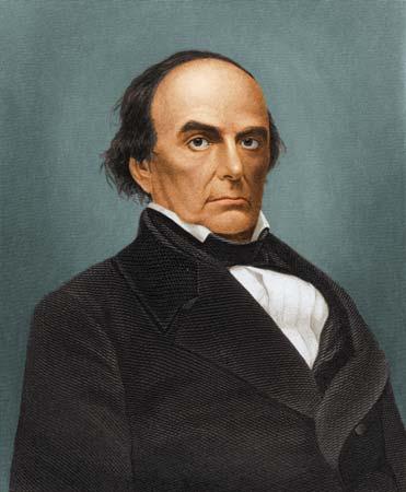 Famous Whig Daniel Webster