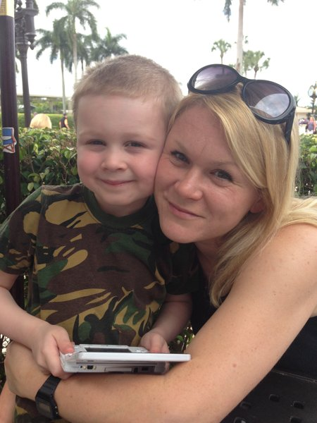 Laura Kemp and her son. Photo: Courtesy of Laura Kemp