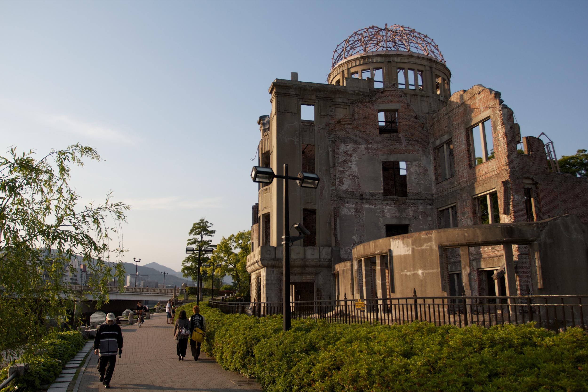 Genbaku A-Bomb Dome, Hiroshima (1).jpg