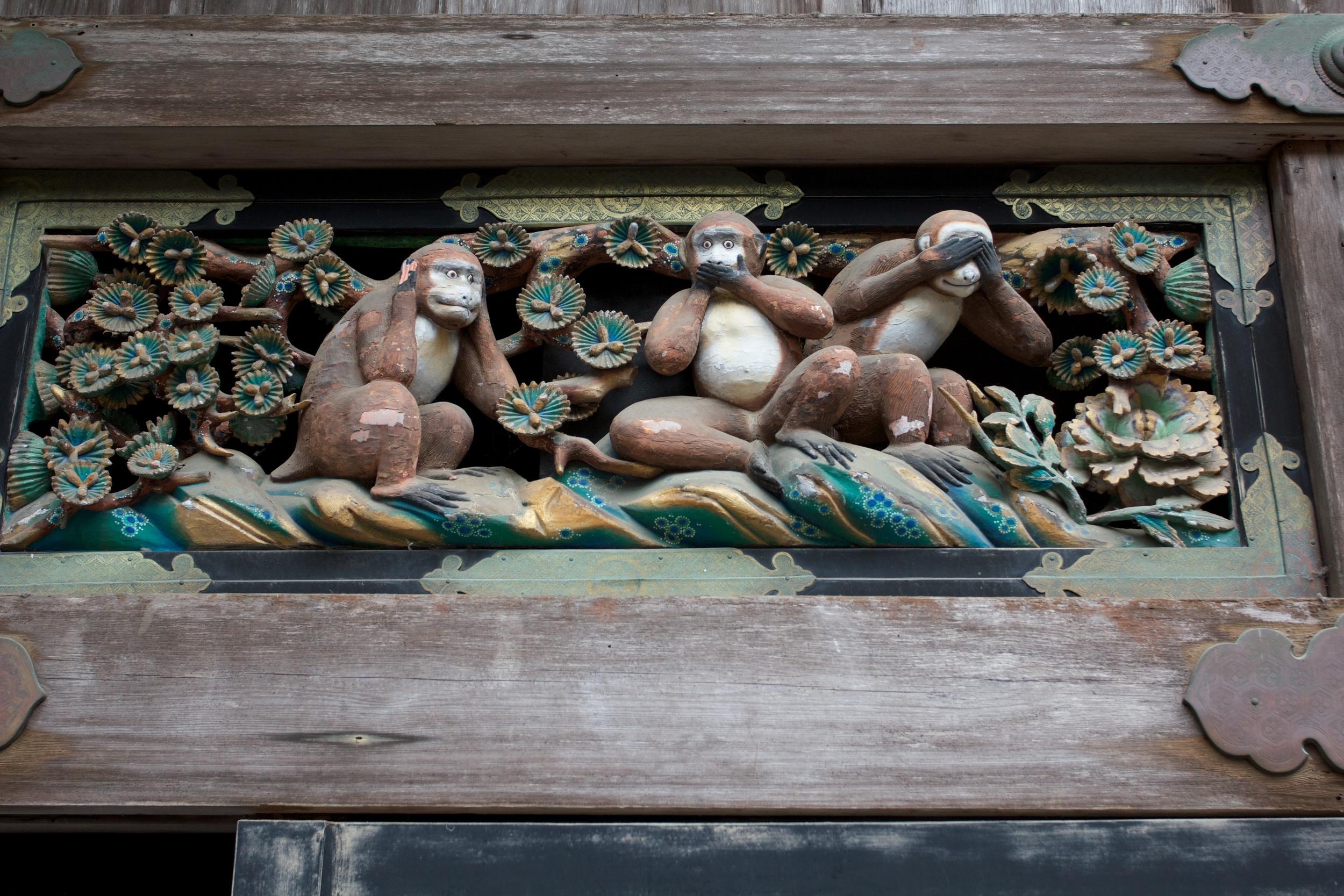 Hear No Evil, Speak No Evil, See No Evil - Nikko Shrine.jpg