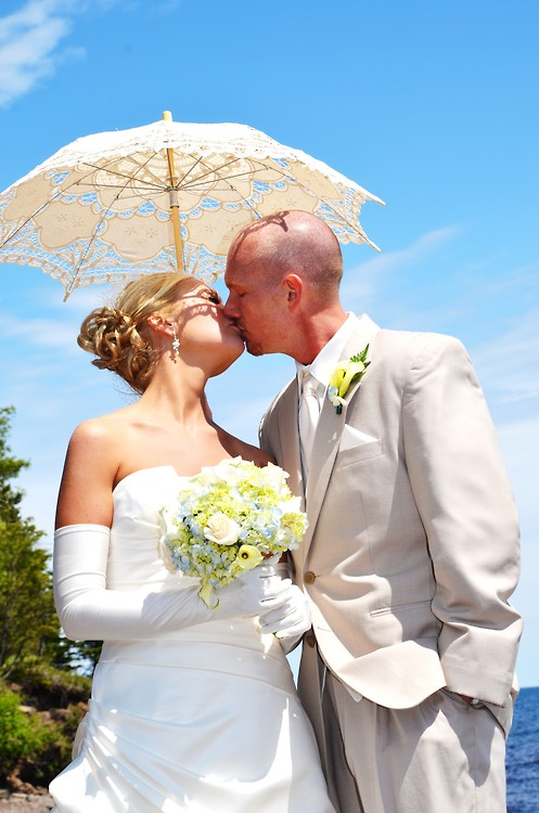 We worked closely with Becky who was absolutely amazing. I have nothing but great things to say about her and our experience. We will always remember how beautiful our wedding was and the memories encompassed.– Jessica S.Minnesota 2011 - Planned by Becky