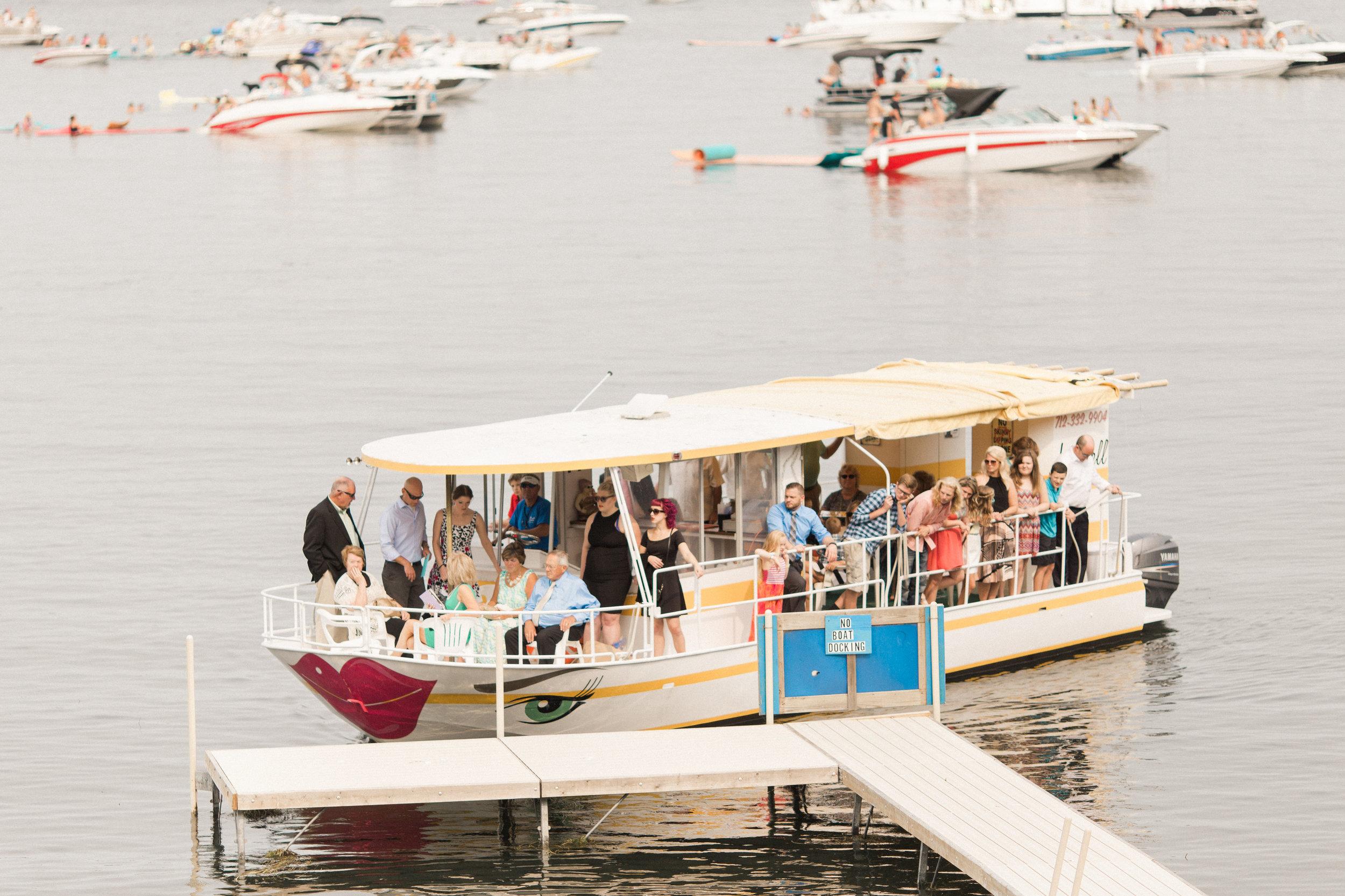 lakeside-wedding-ceremony-boat-entrance
